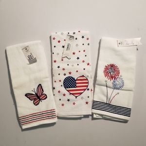 Fourth of July Hand Towels